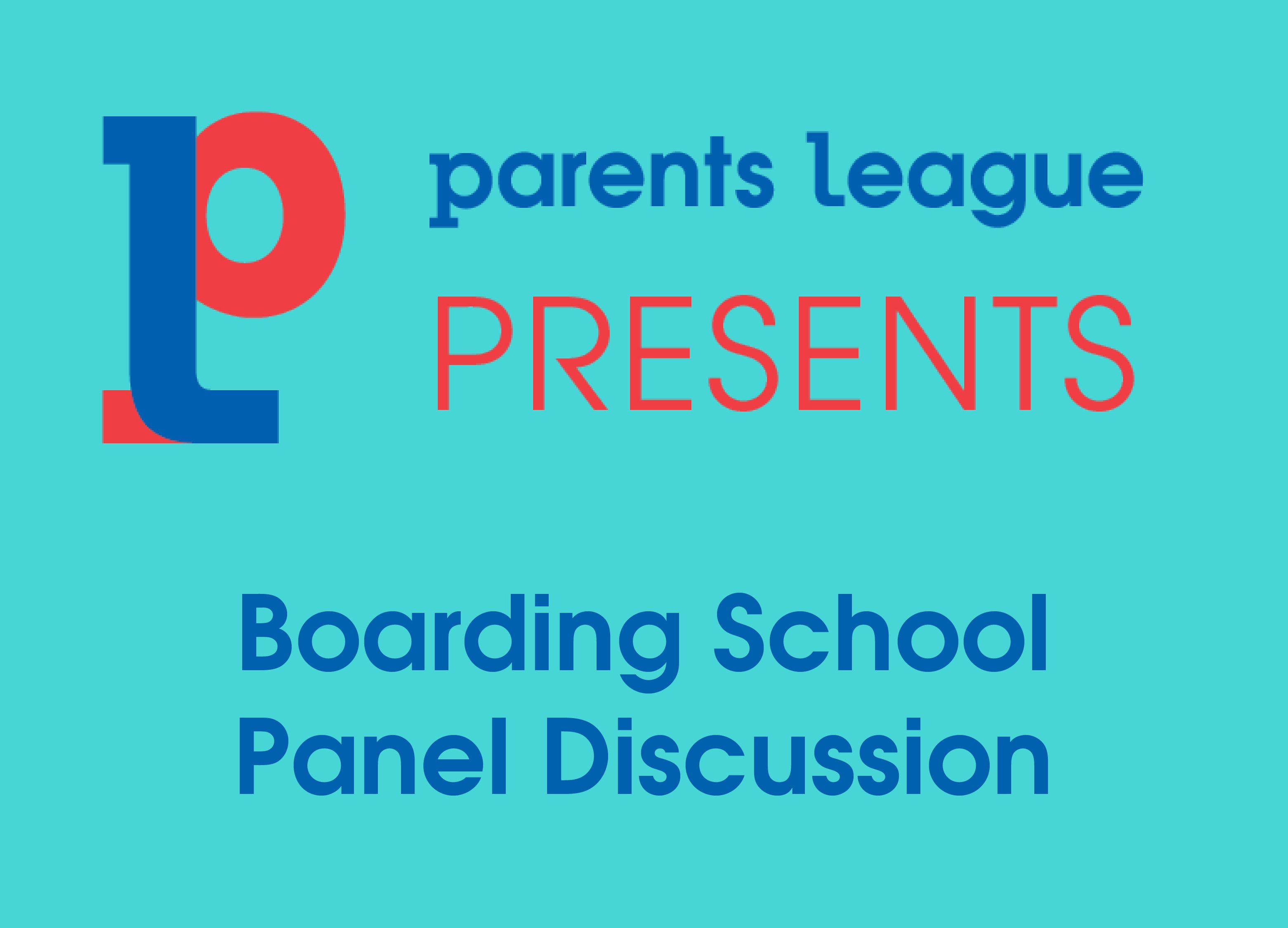 Boarding School Panel Discussion 2020