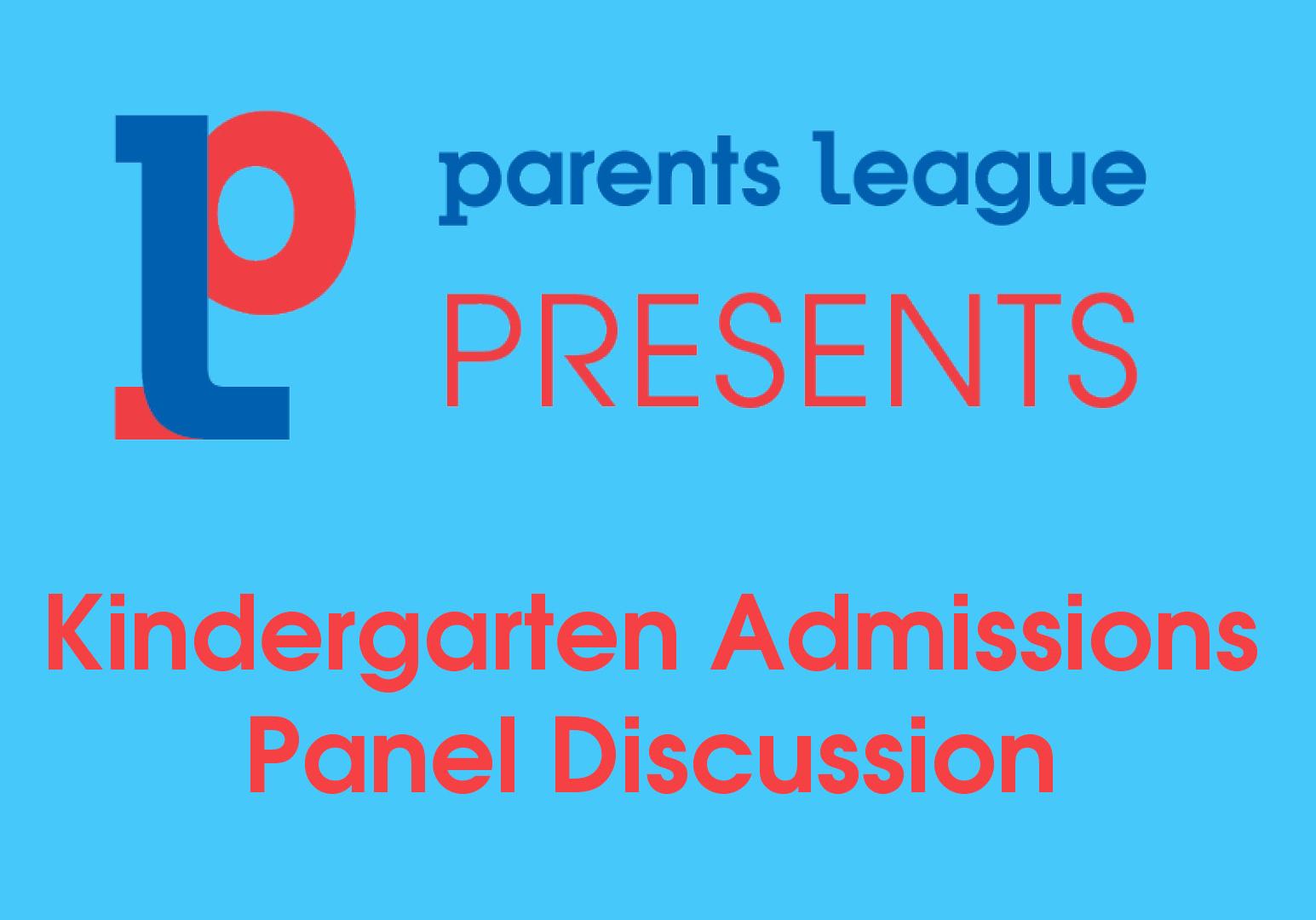 Kindergarten Admissions Panel Discussion 2021