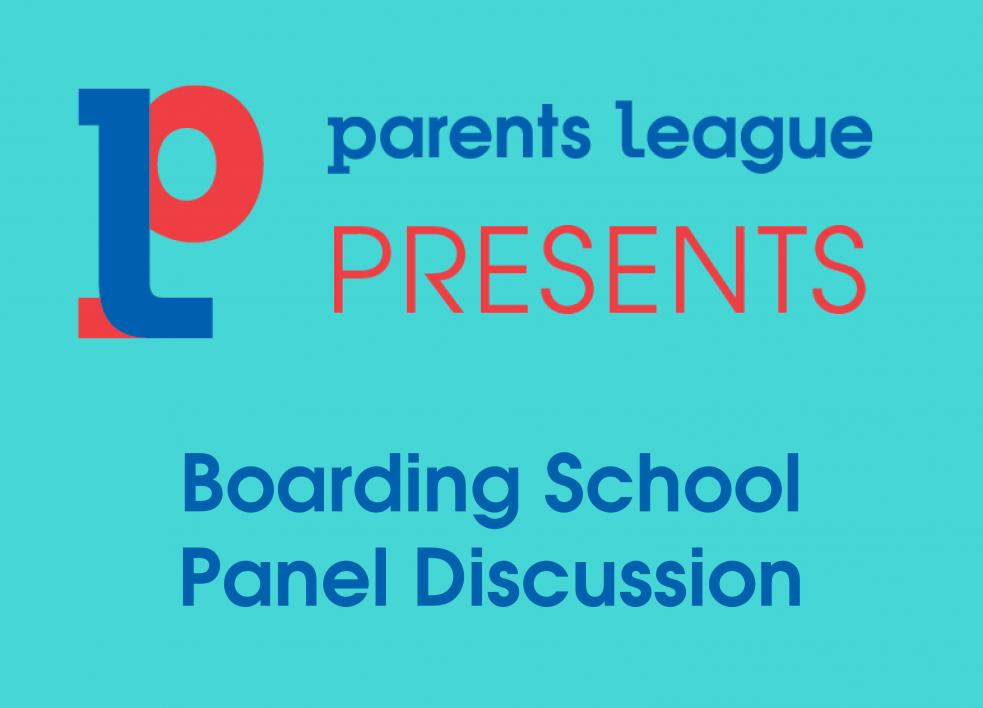 Boarding School Panel Discussion 2020