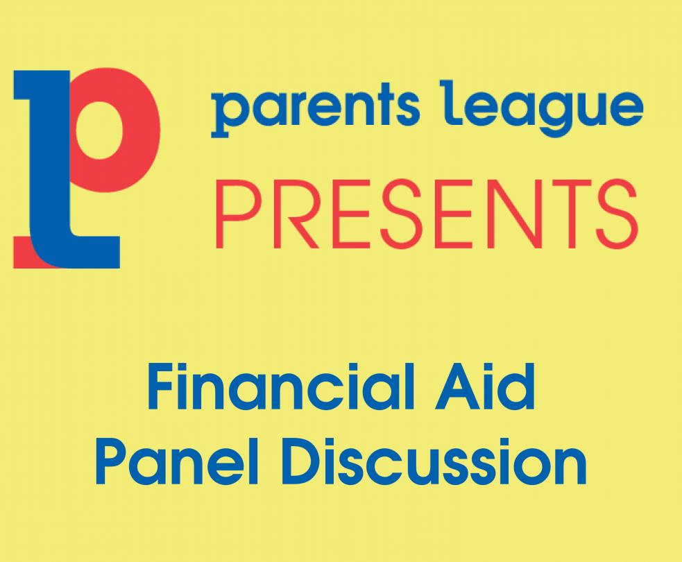 Financial Aid Panel Discussion 2020